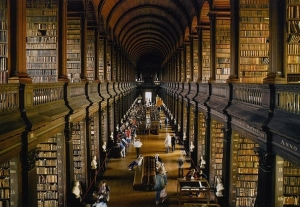 biblioteca colegiului trinity,irlanda